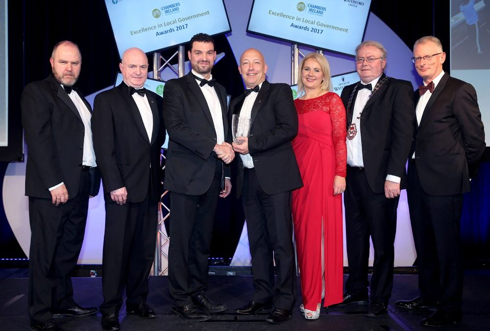 CHAMBERS IRELAND AWARD FOR MAYO'S 'MEN ON THE MOVE'
