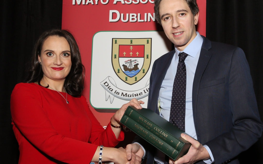 MINISTER HARRIS APPLAUDS MAYO'S VITAL INDUSTRY ROLE