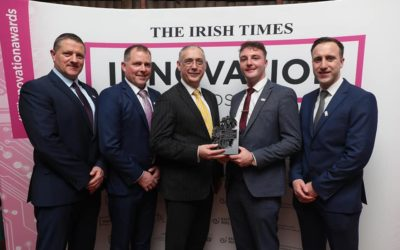 PEL BAGS THE IRISH TIMES INNOVATION AWARD!