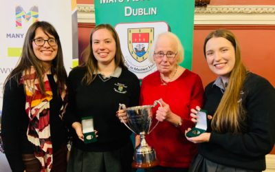 TOP MARKS FOR BALLINROBE IN MAYO SCHOOLS' DEBATING COMPETITION