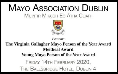 TICKETS ON SALE FOR MAYO ANNUAL AWARDS 2020